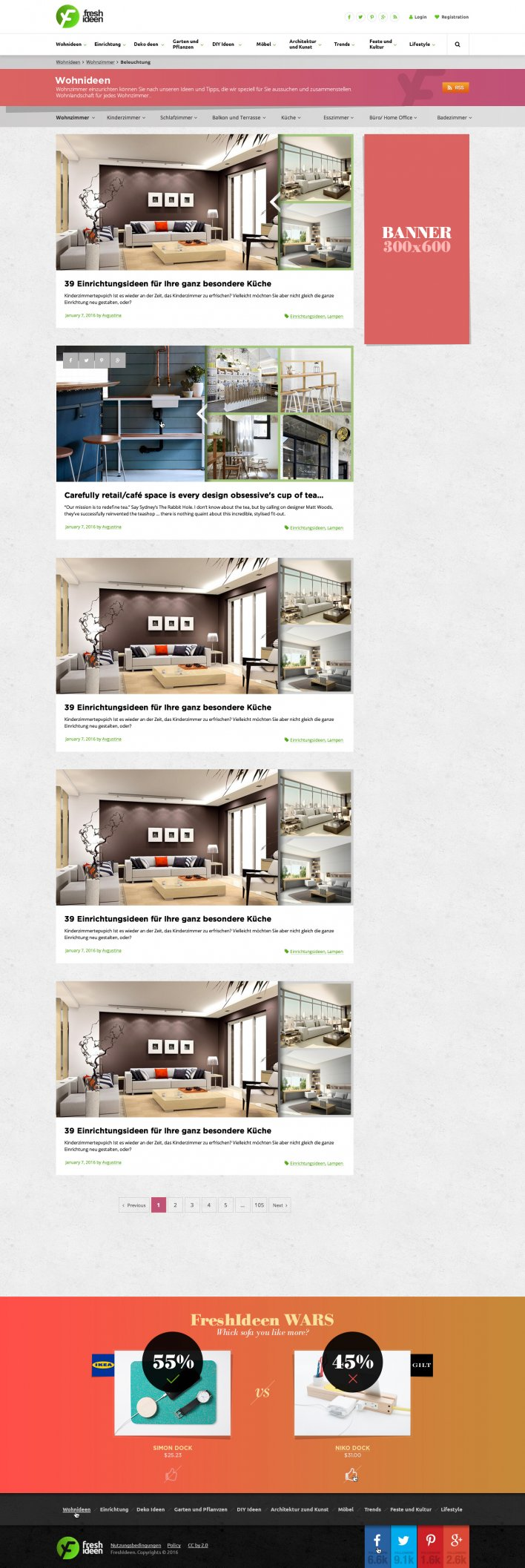 Freshideen. 2016 · Web Design